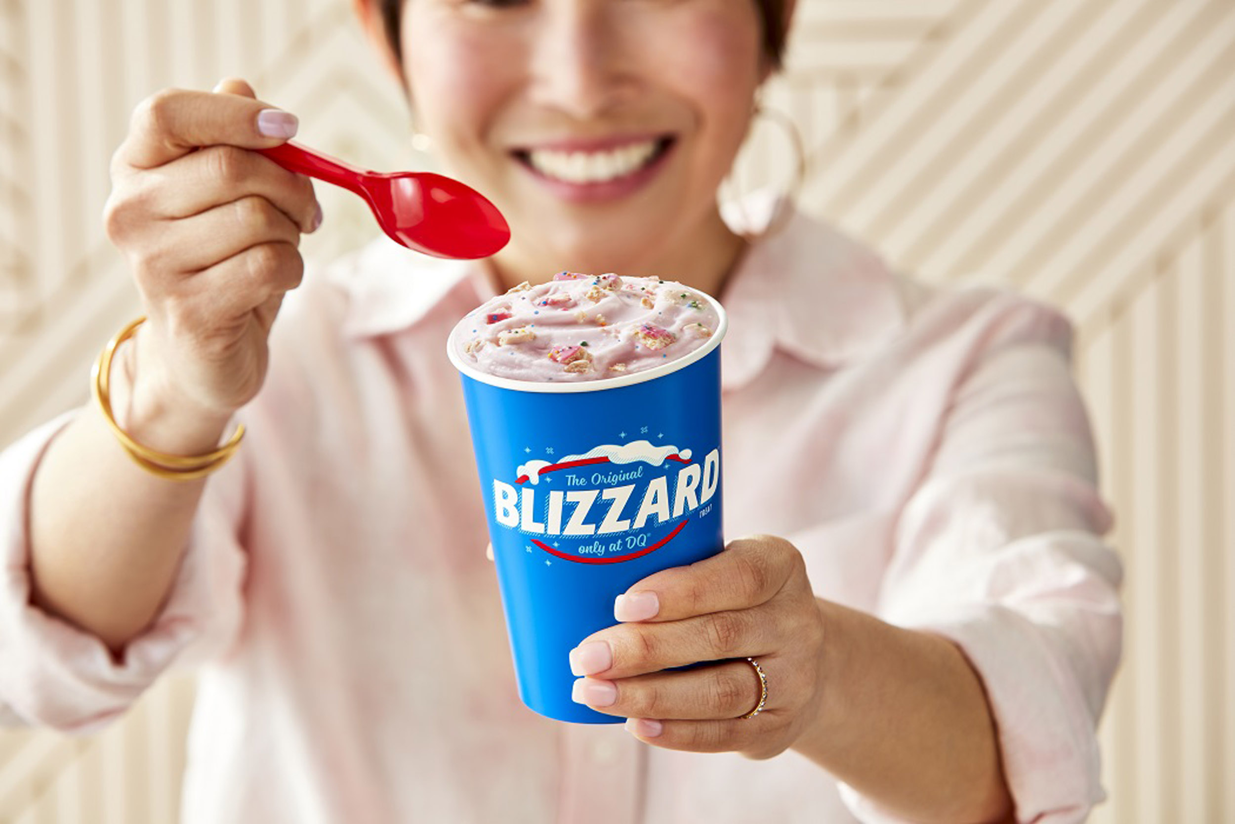 Frosted Animal Cookie blizzard
