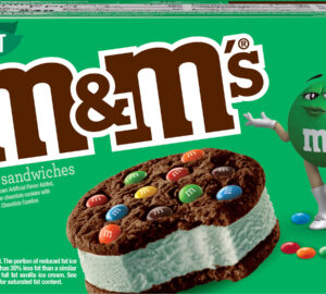 M&Ms Ice Cream Sandwiches