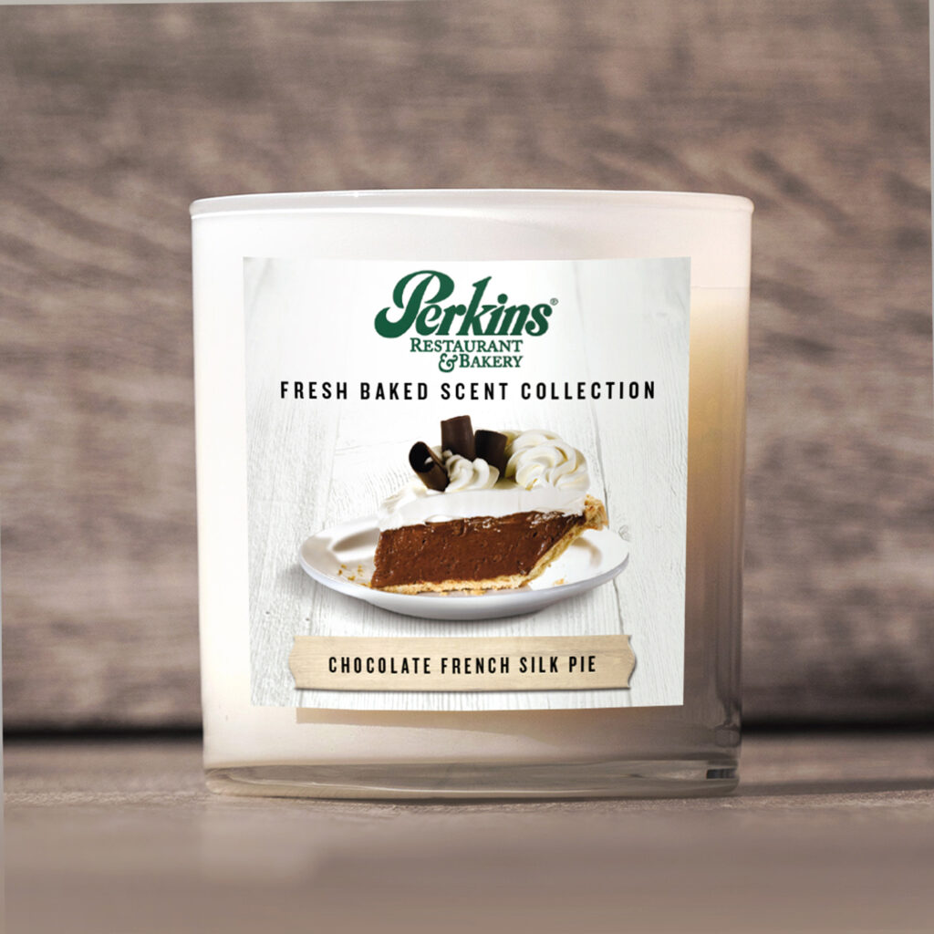 Perkins Pie Candle