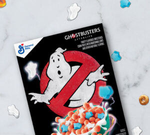 Ghostbusters cereal
