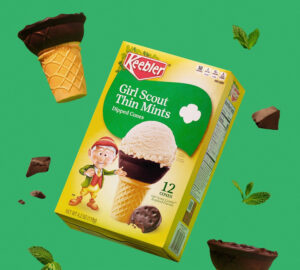 Keebler Girl Scout Thin Mints Dipped Cones