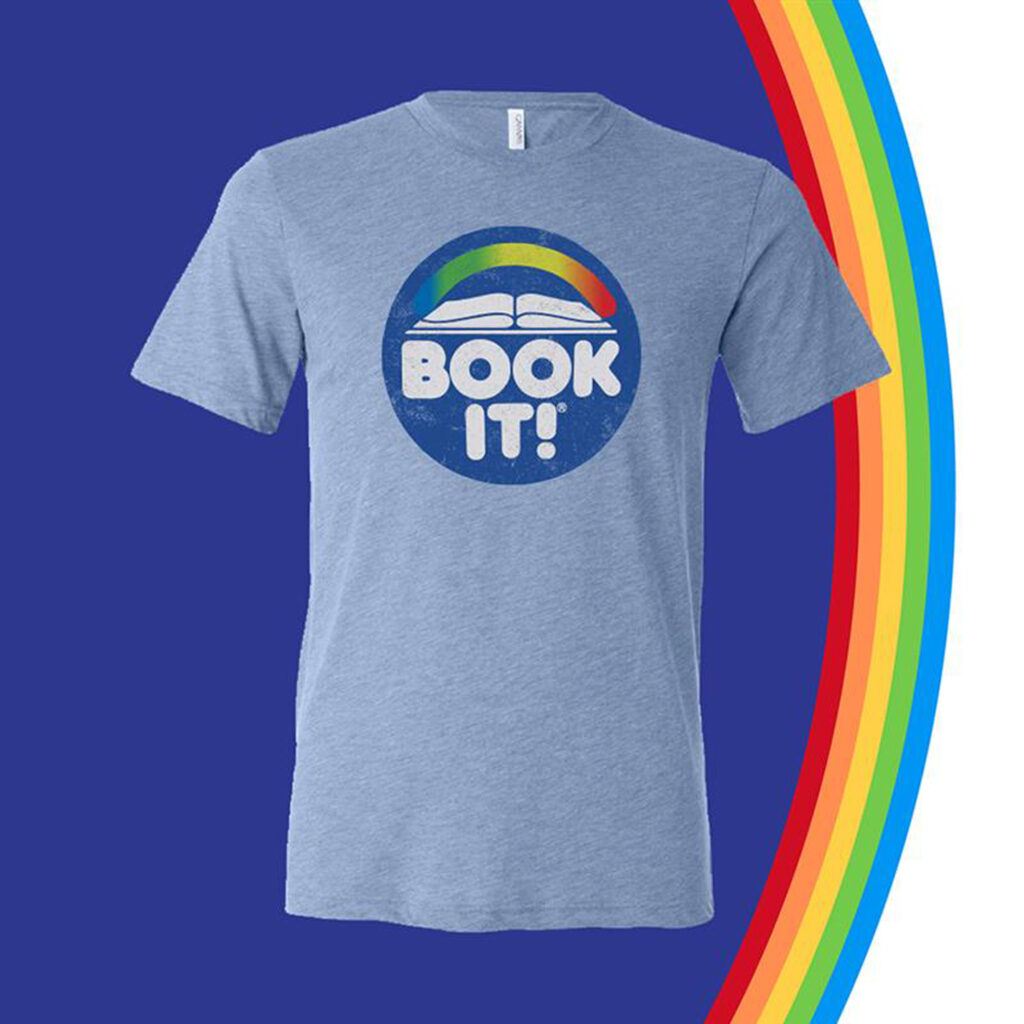 Limited-Edition BOOK IT! t-shirt