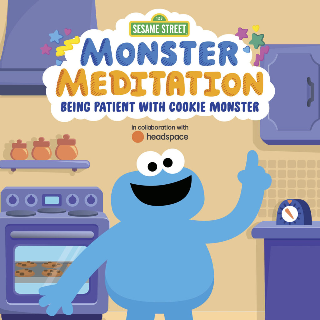 Sesame Street-Monster Meditation_Being Patient with Cookie Monster
